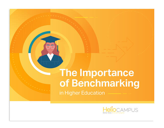 The Importance of Benchmarking in Higher Education Cover